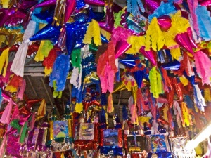 Pinatas in the Piñata District