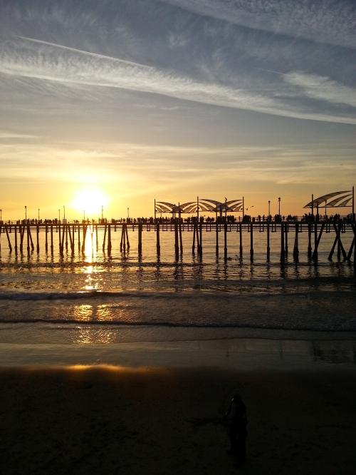 Winter in California Newport Beach Sunset
