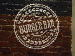 Burger Bar Montreal Crescent