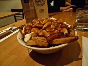 Classic Poutine Burger Bar Montreal Quebec Canada