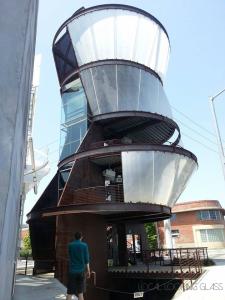 Hayden Tract Gateway Art Tower in Culver City, Los Angeles, California